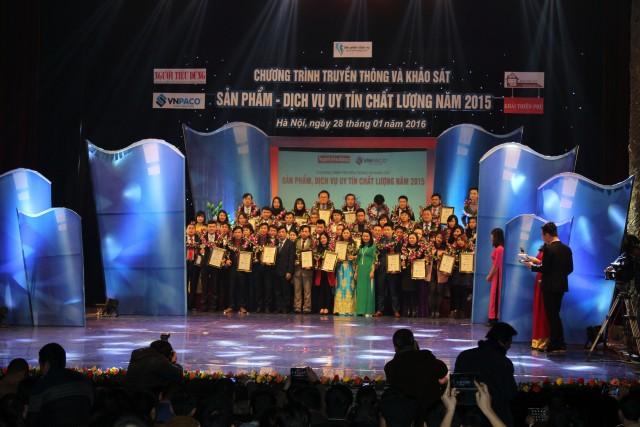 NTC nhận giải thưởng tại chương trình